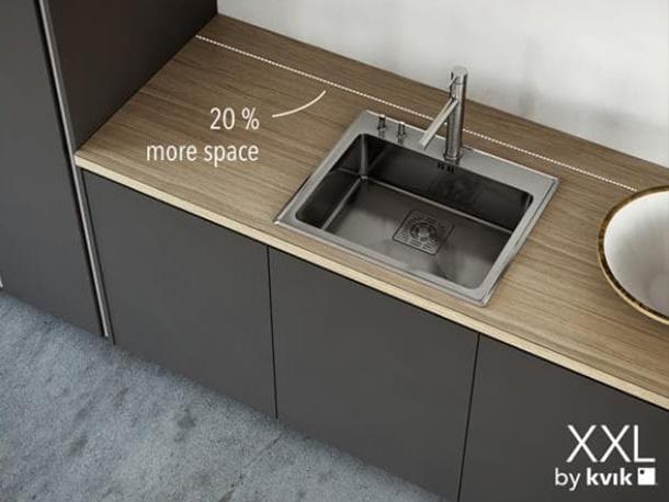 การออกแบบครัวที่ได้พื้นที่ใช้งานมากขึ้น