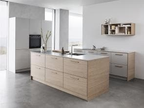 Tacto Light Oak Kitchen