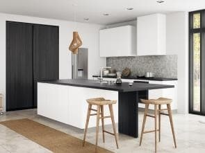 Smart Sliding doors, Black