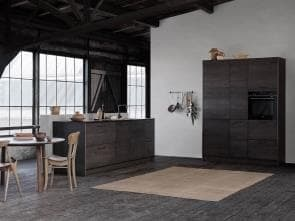 Tacto Dark Oak Kitchen