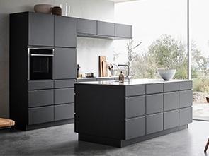Mano Dark Grey Kitchen