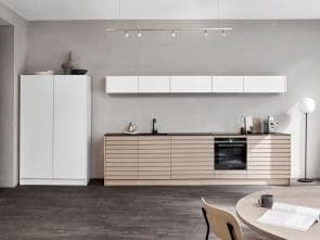 Cima Light Oak Kitchen